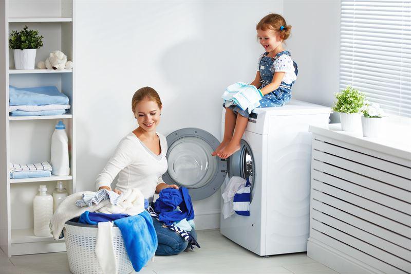 Program dziecięcy w pralkach