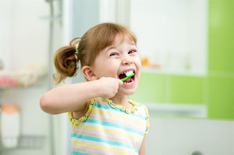 Szczoteczka do zębów dla dzieci z minutnikiem